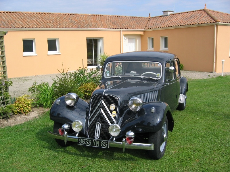 Citroen traction 11B 1955