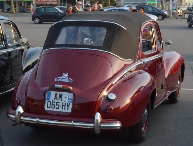 Peugeot 203 découvrable
