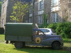 203 Peugeot camionette Bachée