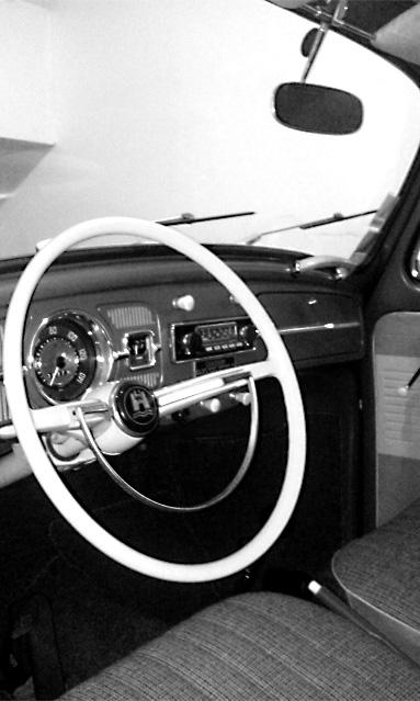 WV cox Decouvrable 1963