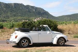 VW coccinelle decapotable