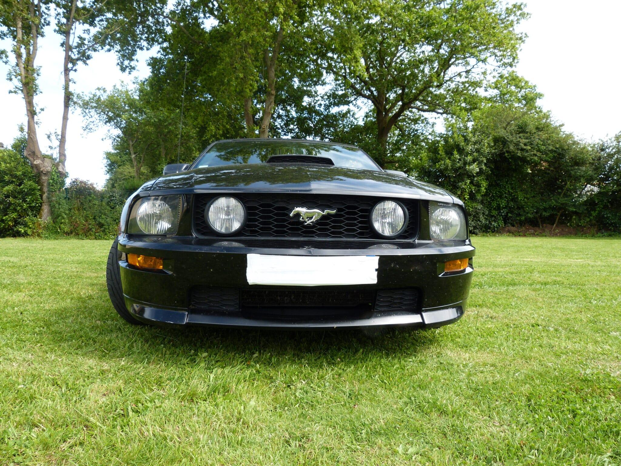 Mustang décapotable