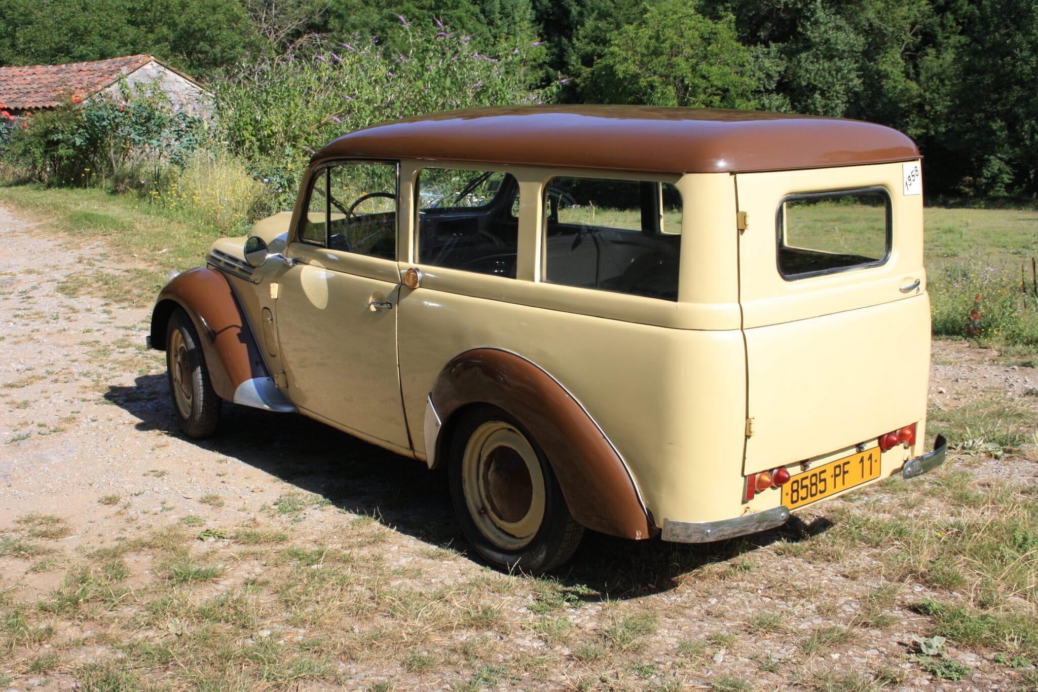 Renault juvaquatre 1958