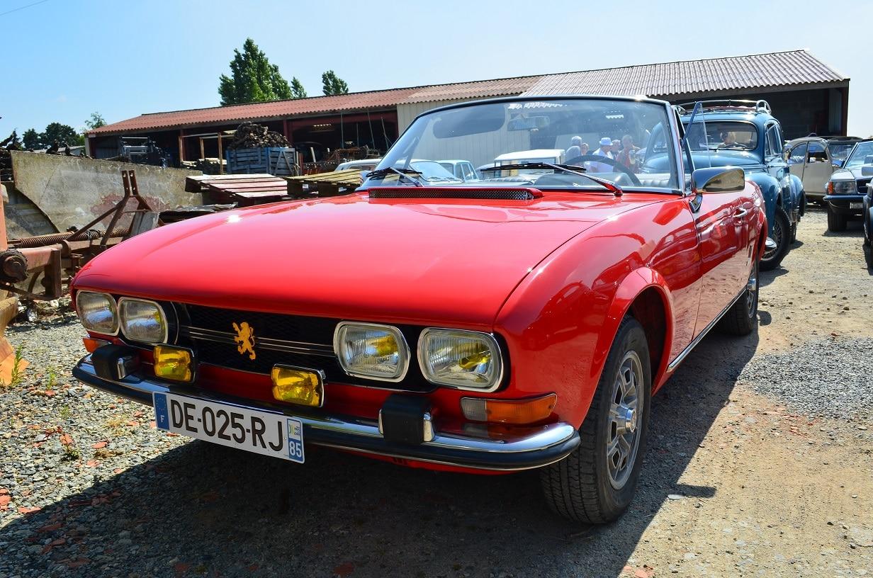 Peugeot 504 cabriomet 1972