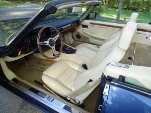 Jaguar convertible 1991