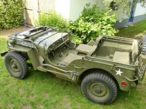 jeep willis 442